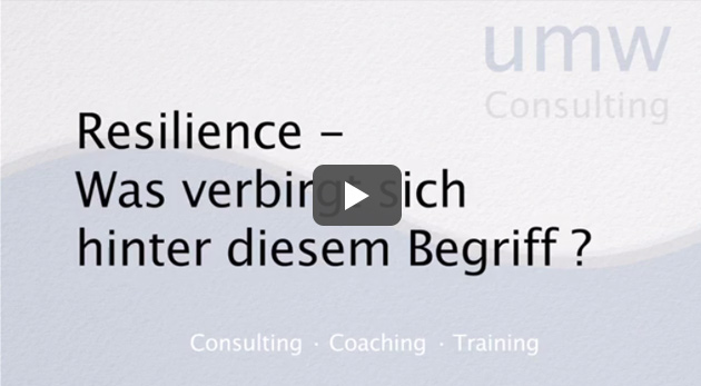 Interview about Resilience Training With Our German Partner